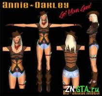 Annie Oakley для GTA Vice City
