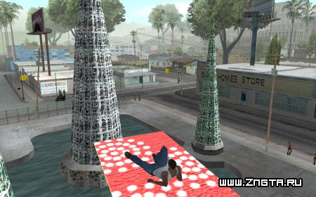 Flying Carpet для GTA San Andreas