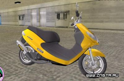 Suzuki Adress для GTA Vice City