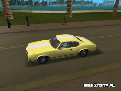 Автомобиль Sabre для GTA Vice City