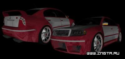 Автомобиль Skoda Superb Tuned для GTA Vice City