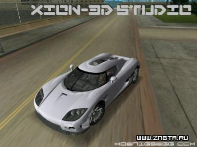 Автомобиль Koenigsegg CCX для GTA Vice City