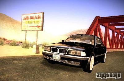 BMW 730i e38 1997  GTA San Andreas