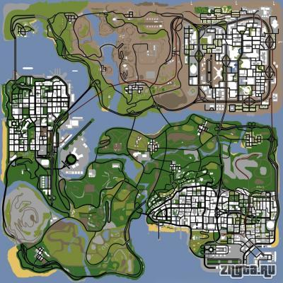 HQ San Andreas Radar