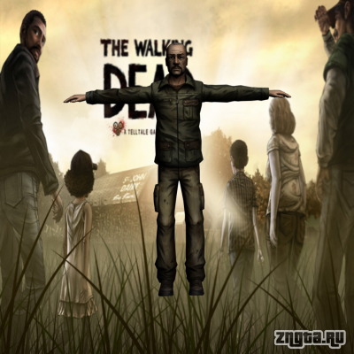 ���� Pete �� Walking Dead ��� GTA San Andreas